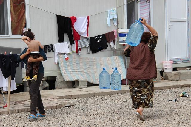 Oliver Maksan ACN_Utečenecký tábor v kurdskom Erbile (Arbíle)