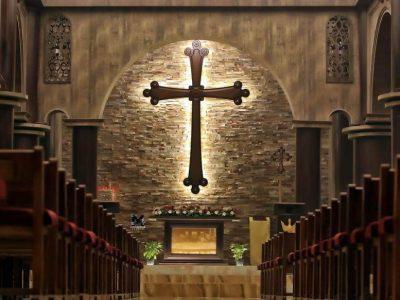 Prvý kostol!