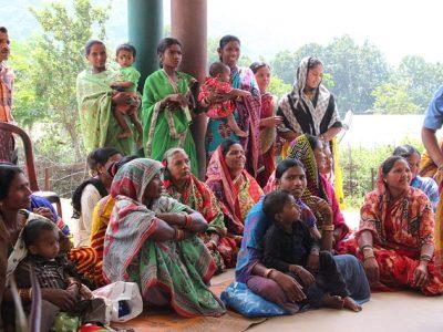 India: Stavba nového kostola v misii v Jubaguda