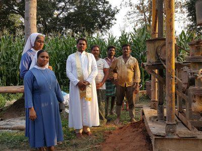 India: Studňa pre internát rehoľných sestier