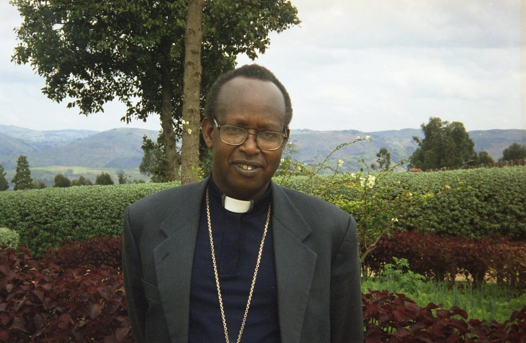 Biskup z diecézy Byumba Mons. Servilien Nzakamwita. Foto ACN