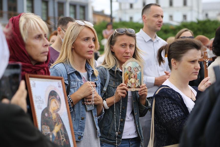 Protesty v Bielorusku po prezidentských voľbách