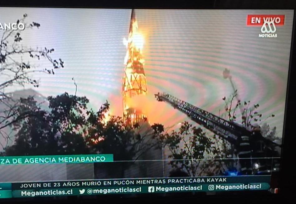 Útok na kostol v Čile