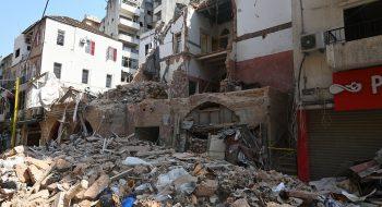Obytná štvrť v Bejrúte. FOTO: John Smith / ACN