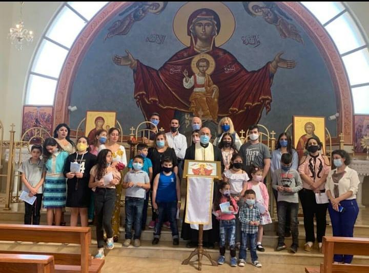 Melchitská katolícka farnosť v Zahle, Libanon