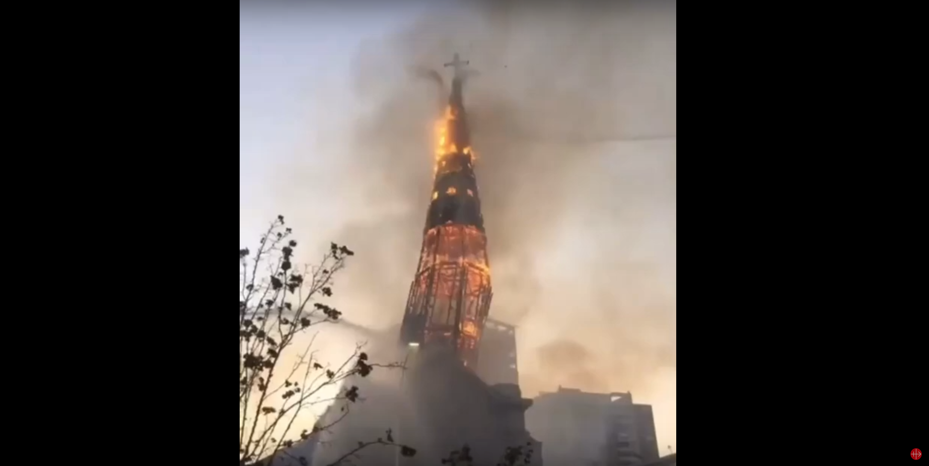 Horiaca veža kostola