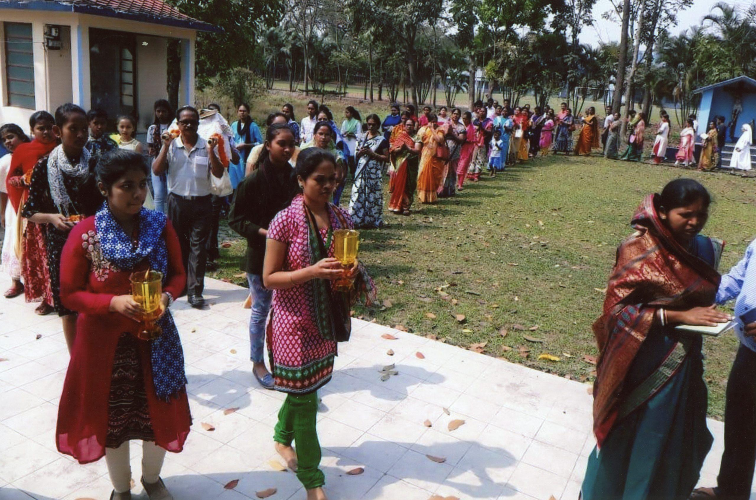 Stretnutie kresťanských spoločenstiev v Kalkate