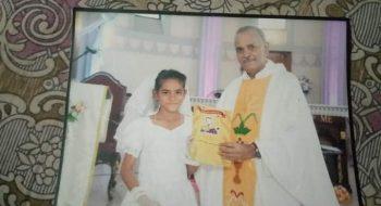 Fotka uneseného dievčaťa