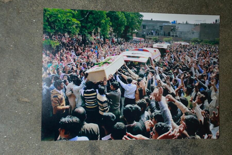 Pohreb Akaša Bašira