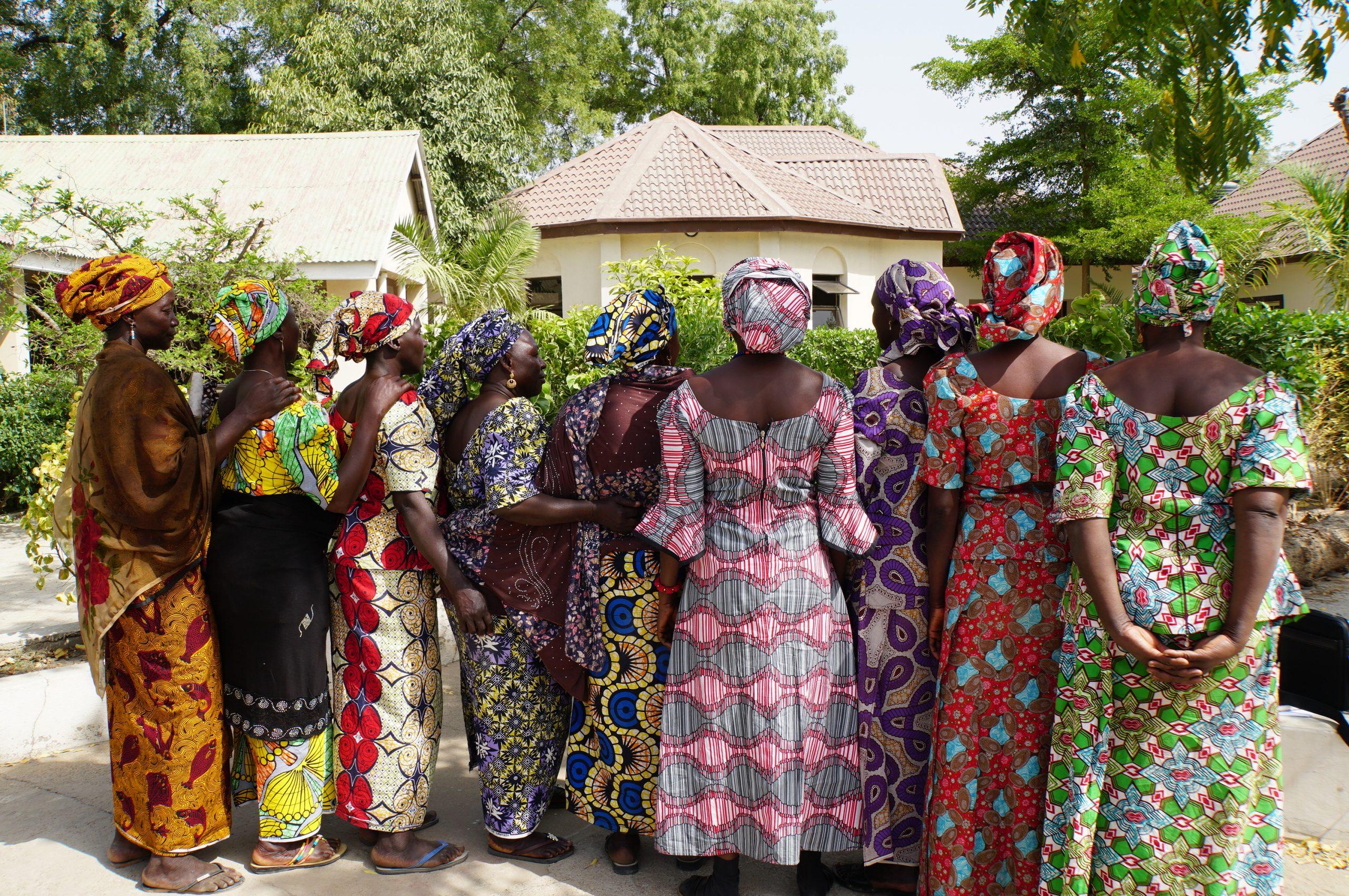 Vdovy, ktoré navštevujú pastoračné centrum